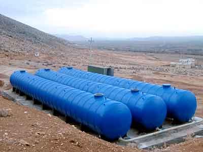 مخزن کامپوزیتی ذخیره آب آشامیدنی
